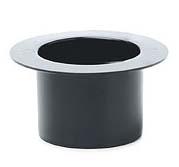 Plastic Black Top Hat