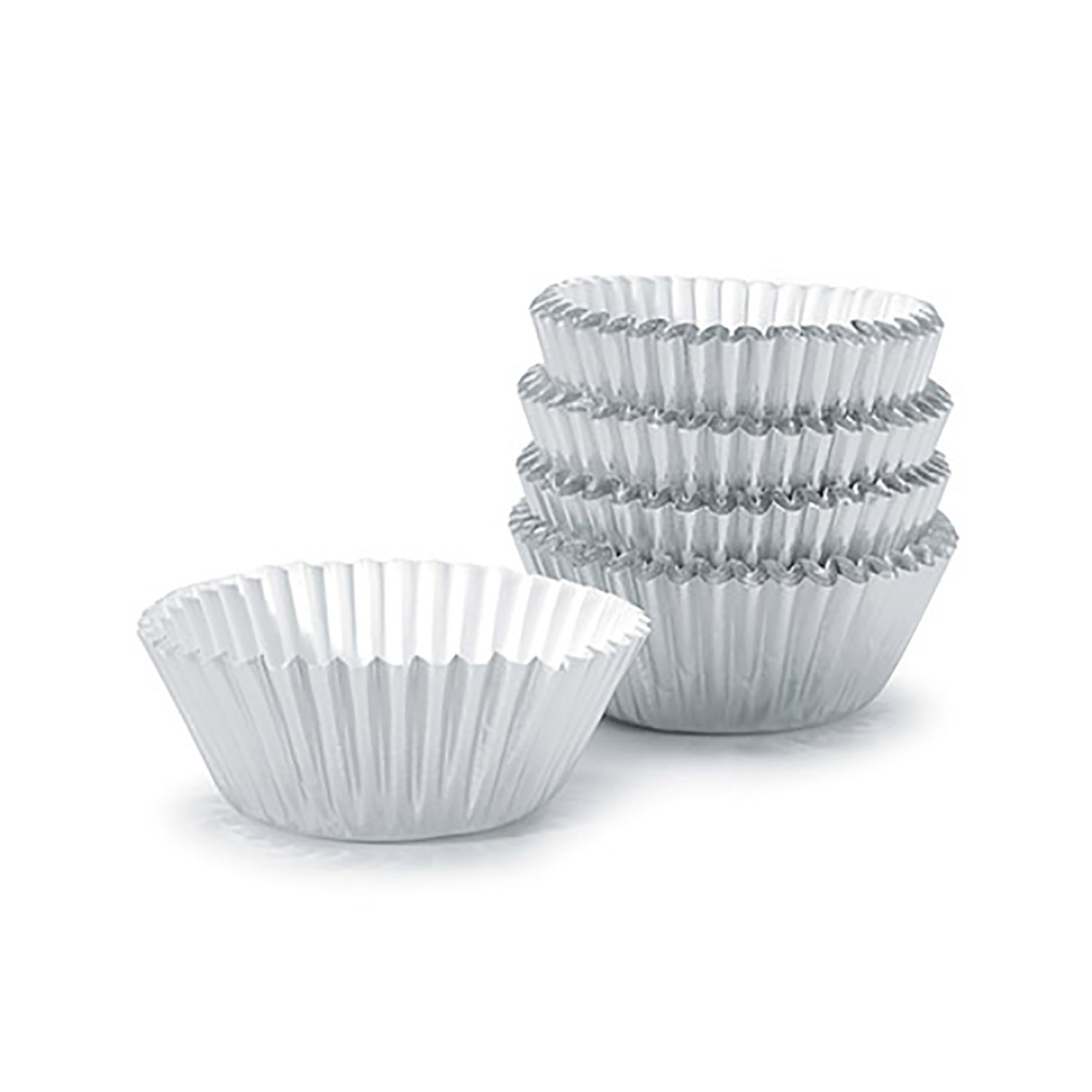 Silver Candy Cups