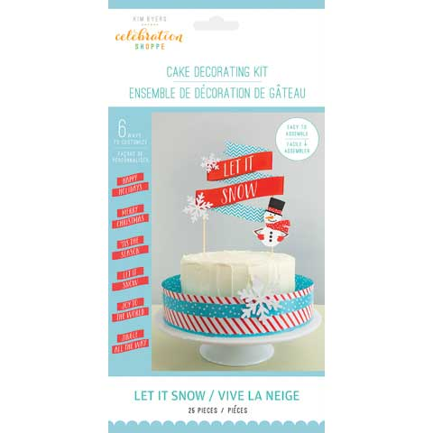 Let It Snow Cake Decorating Kit