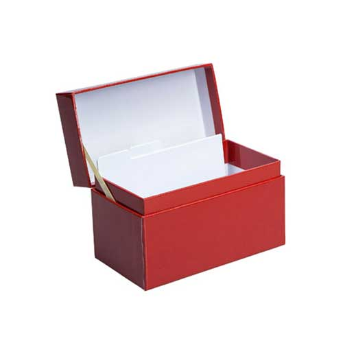 Recipe Box - Red
