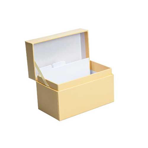 Recipe Box - Yellow