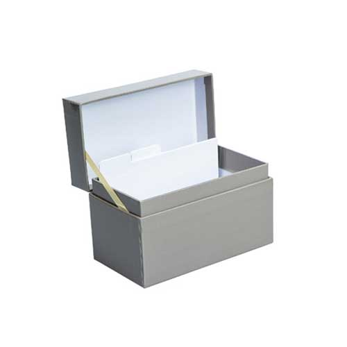 Recipe Box - Grey