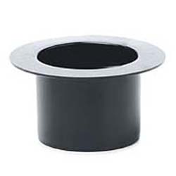 Plastic Black Top Hat