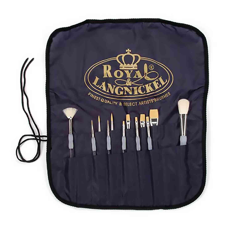 Royal Artistic Brush Set with Apron