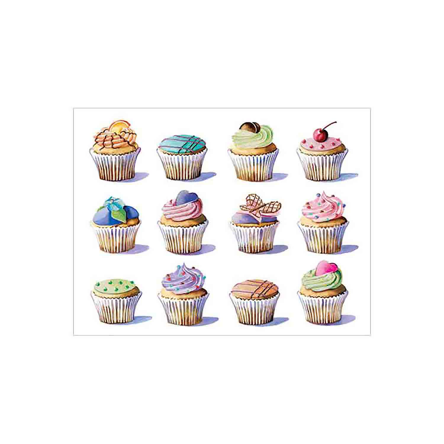 Cupcake Blank Notecards