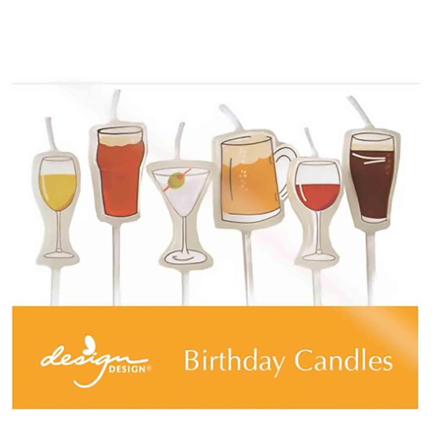 Beer and Cocktails Candles