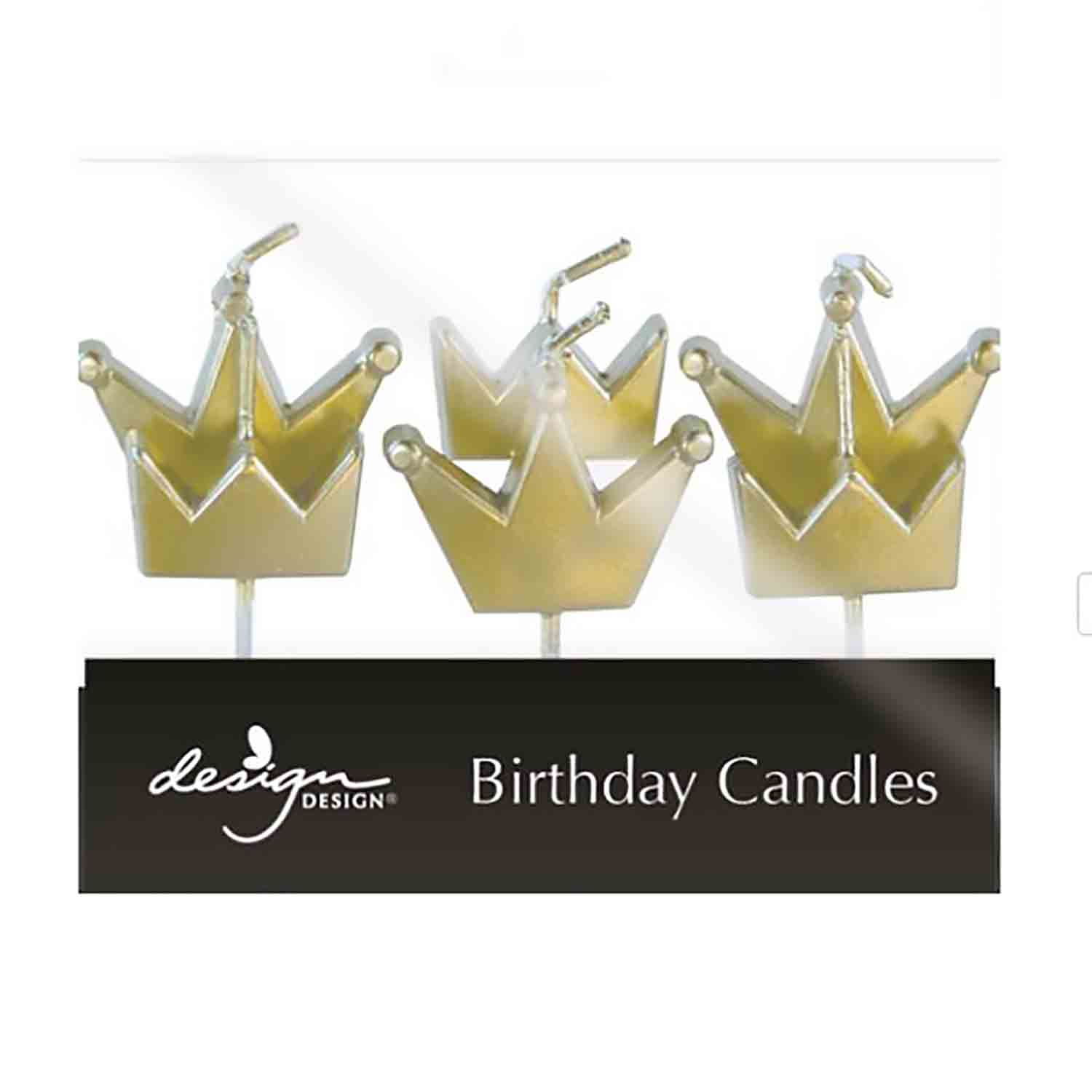 Gold Crowns Candles