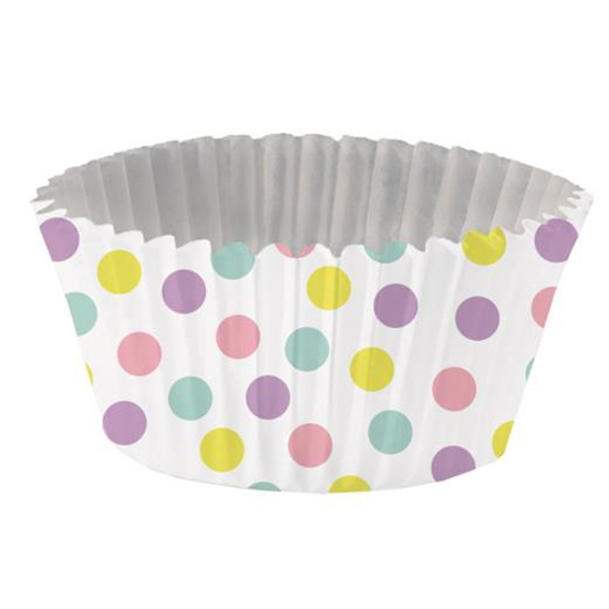 Pastel Dots Foil-Lined Standard Baking Cups