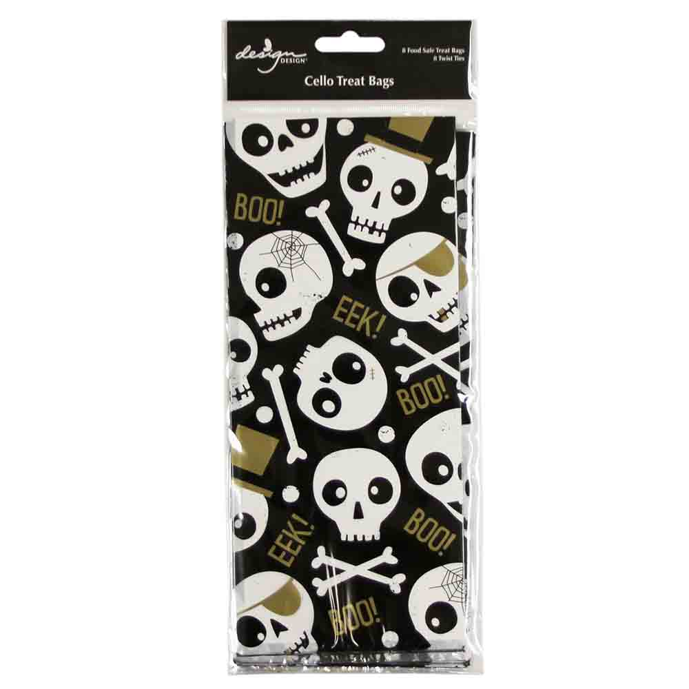 Silly Skull Treat Bags