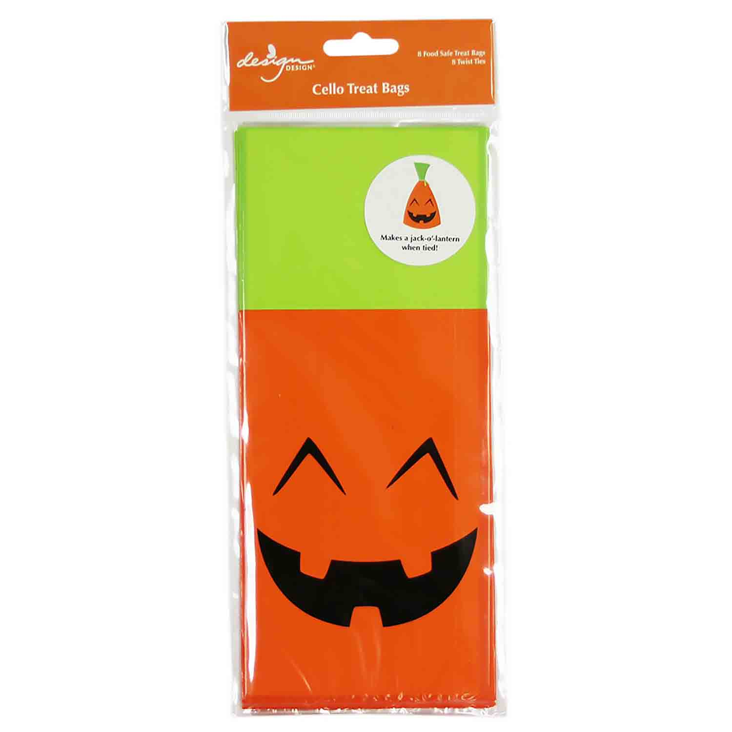Jolly Jack-O-Lantern Treat Bags