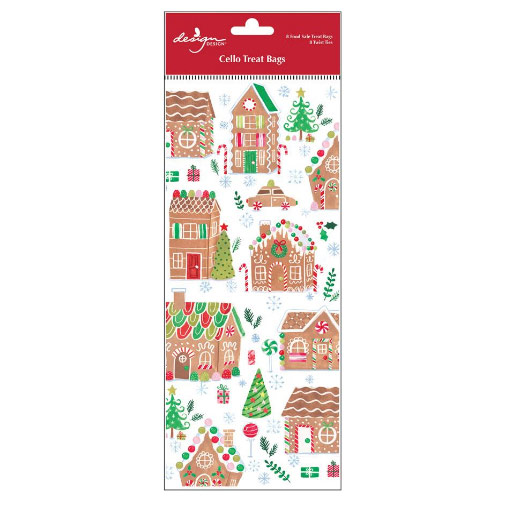 Gingerbread Village Treat Bags