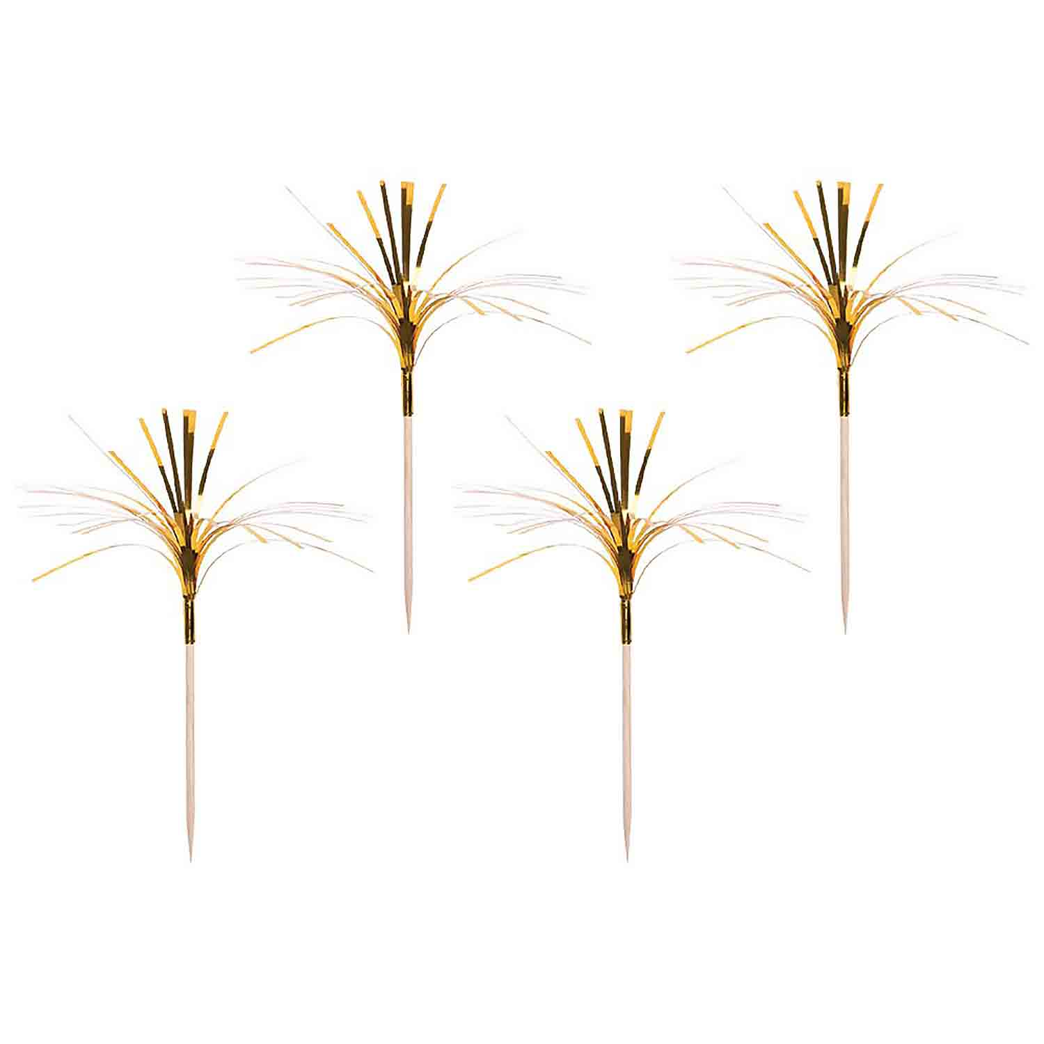 Gold Tinsel Picks
