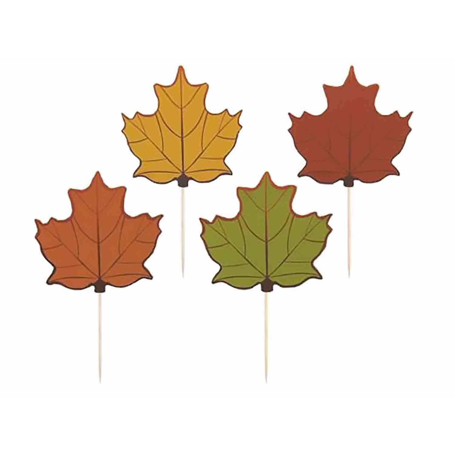 Lustrous Leaf Picks