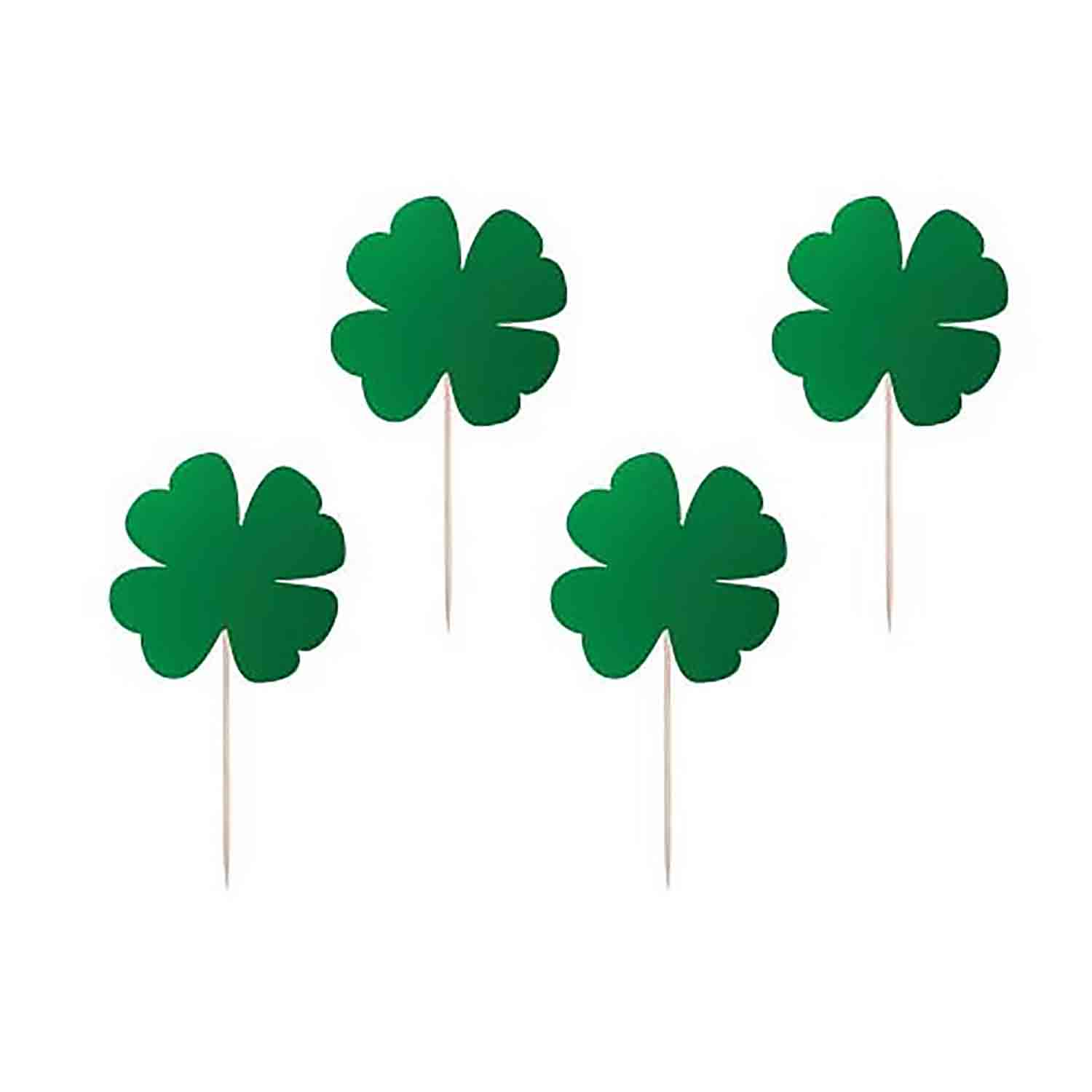 Green Shamrocks Picks
