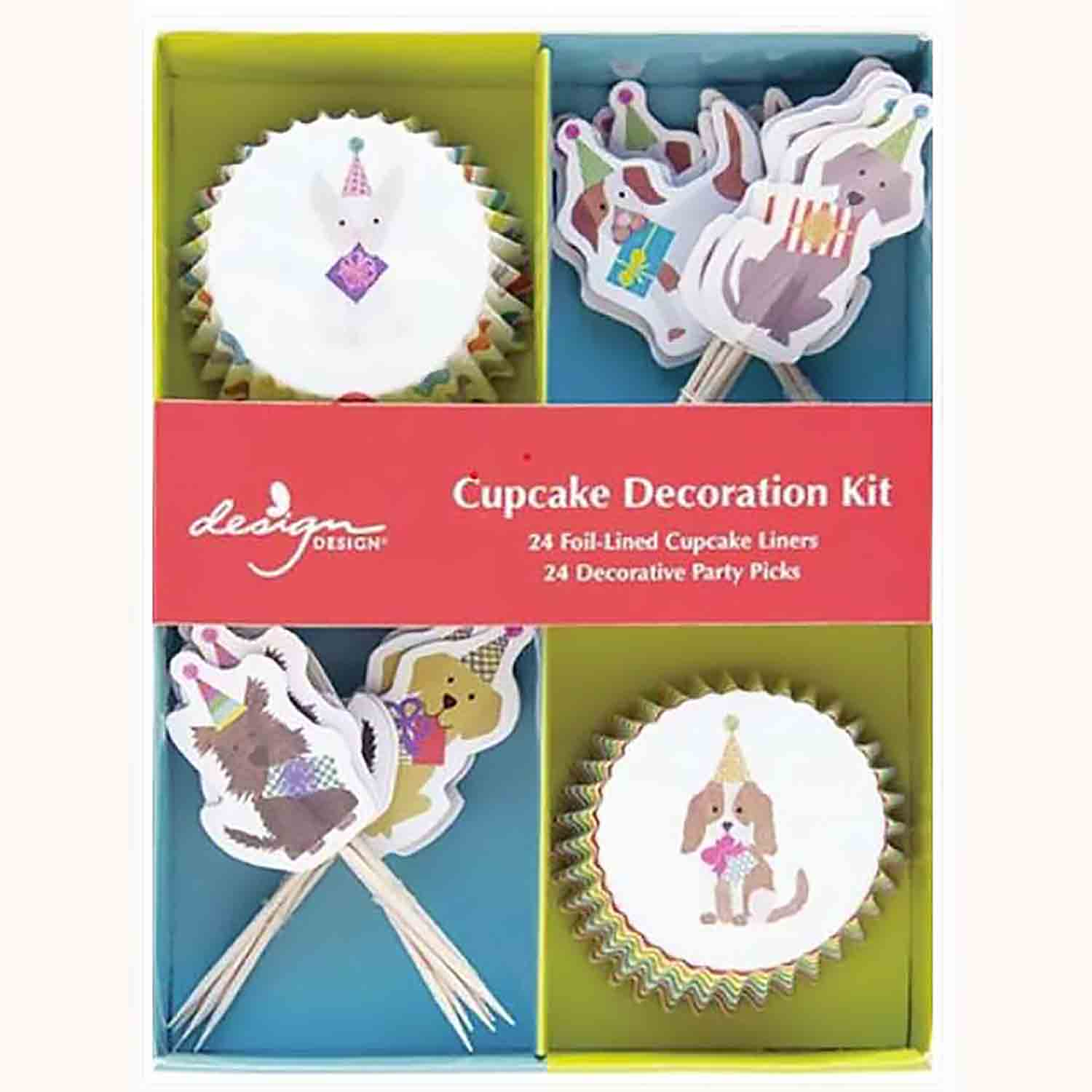 Party Pups Cupcake Kit