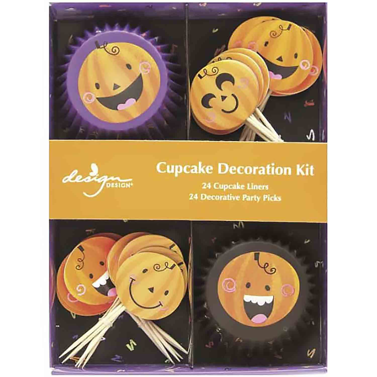 Pumpkin Party Cupcake Kit