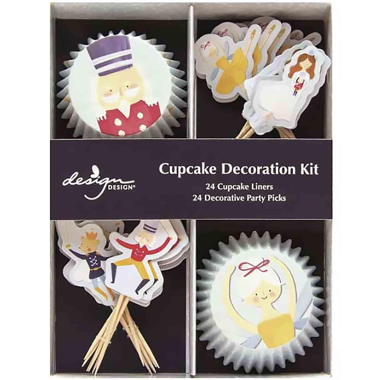 Sugarplum Christmas Cupcake Kit