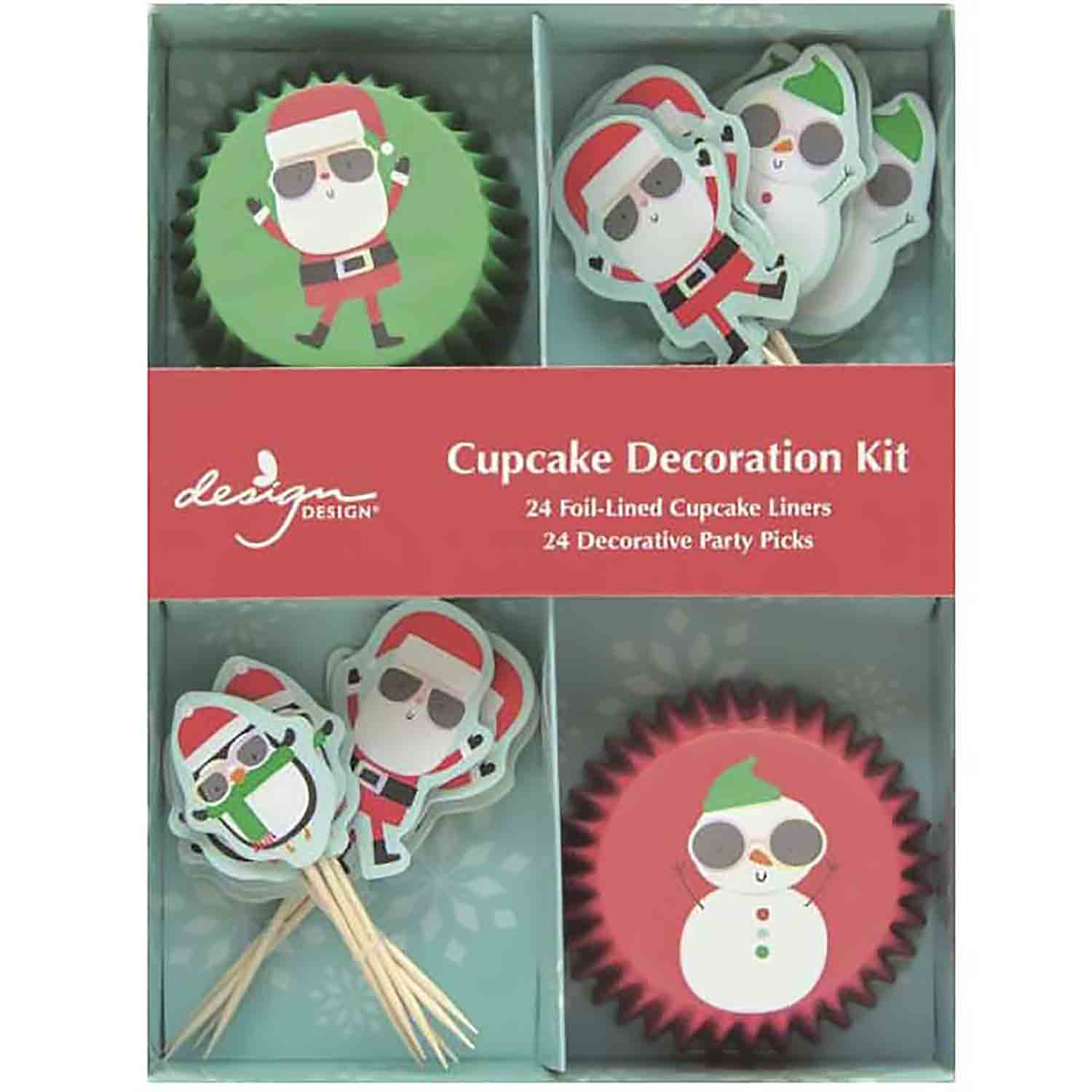 Christmas Cake and Cupcake Toppers and Decorations