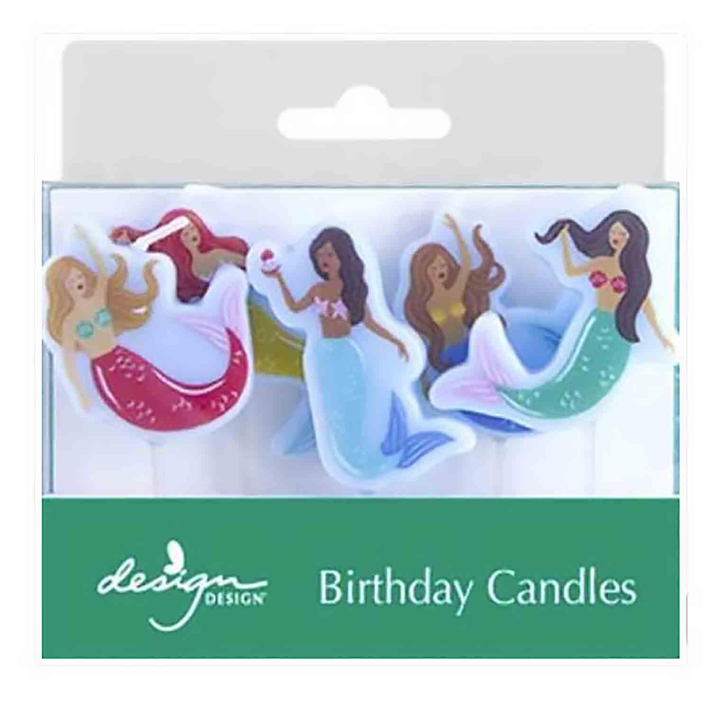 Mermaid Magic Birthday Candles