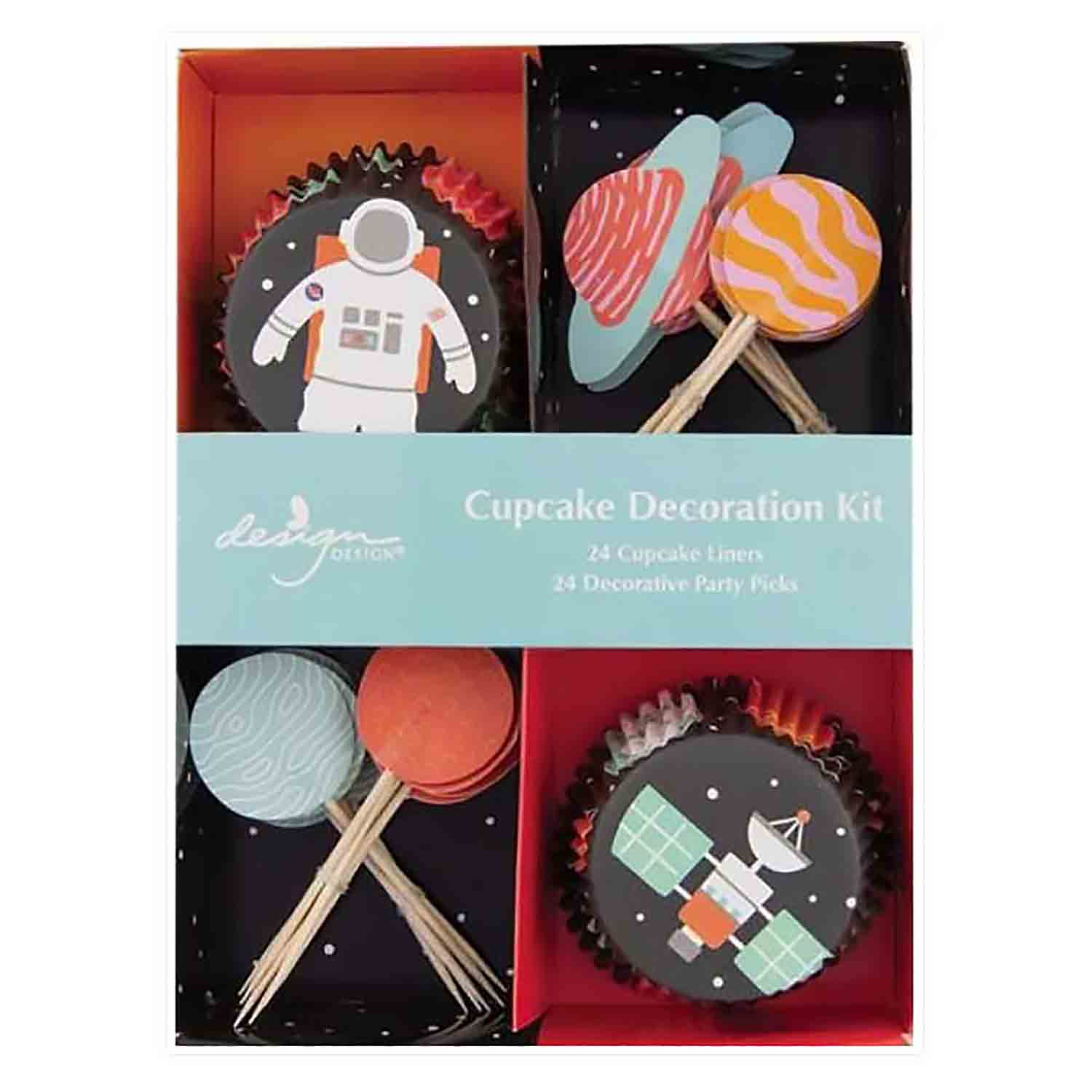 Outer Space Adventure Cupcake Kit