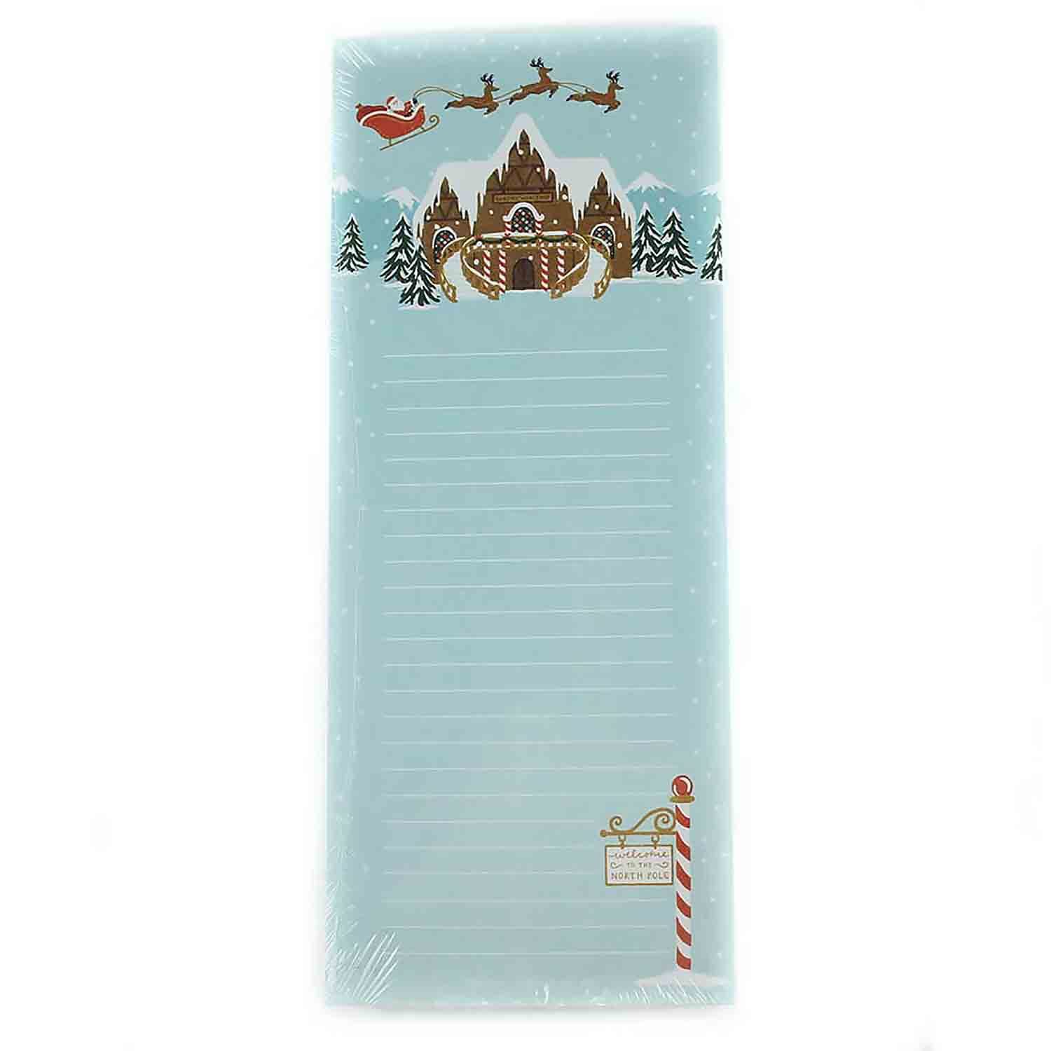 Santa's Village Magnetic Notepad