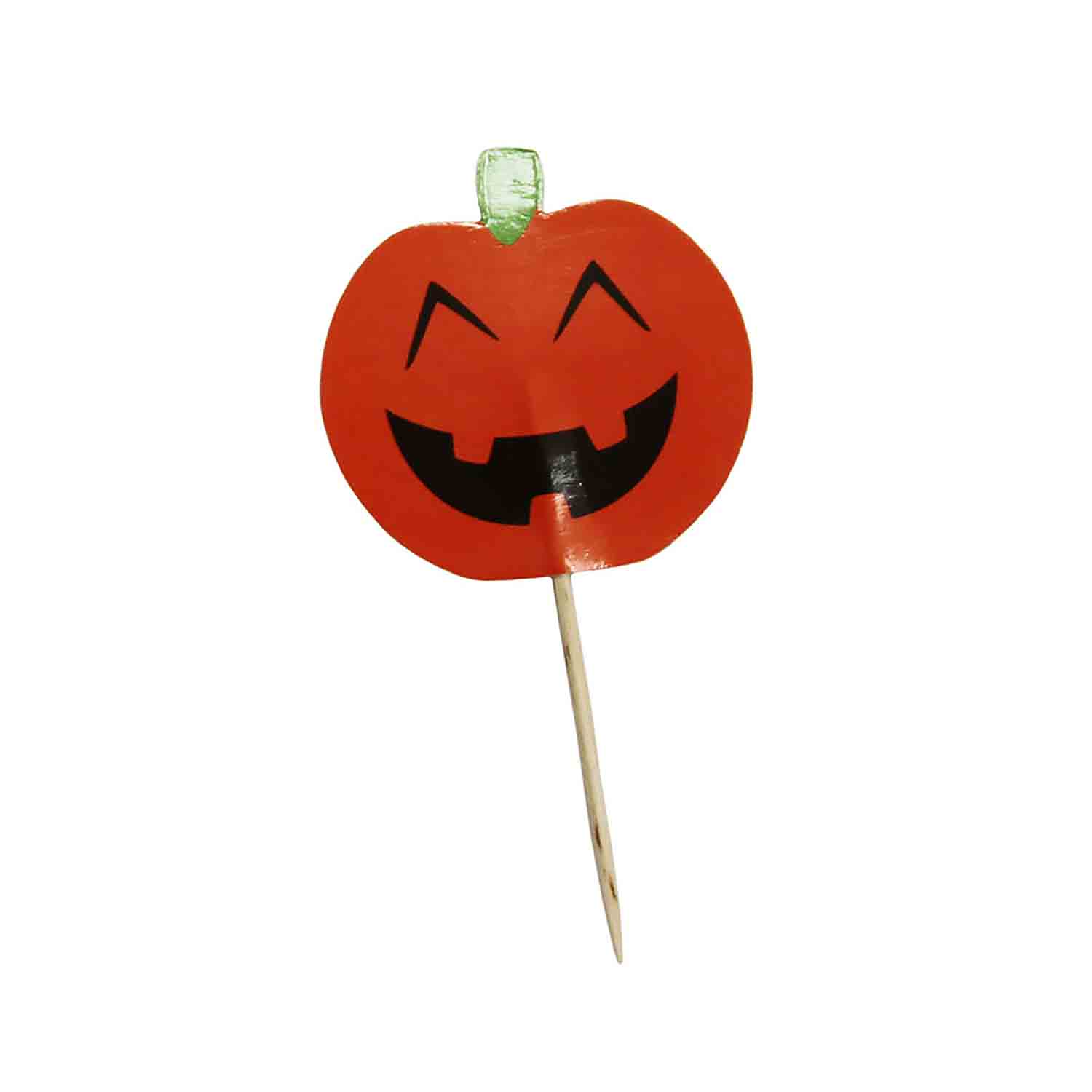 Jolly Jack-O-Lantern Picks