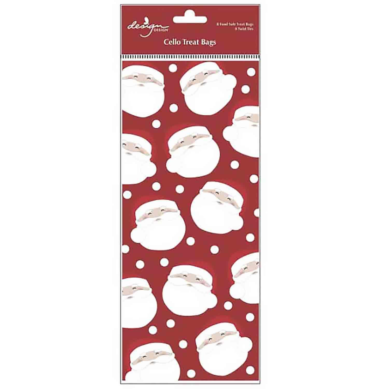 Merry Santa Treat Bags
