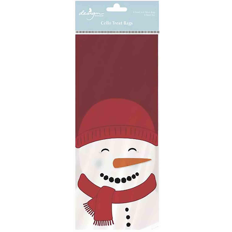 Merry Snowman Treat Bags