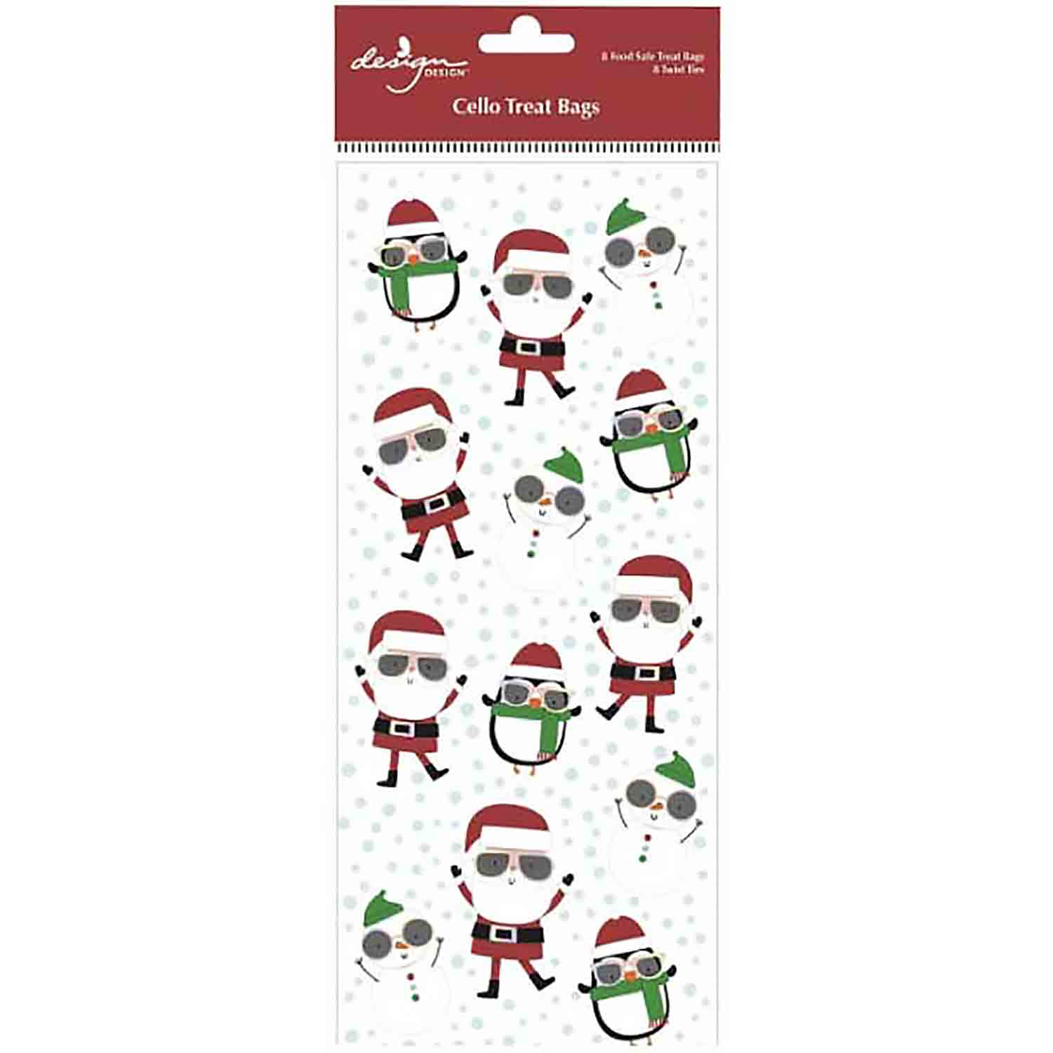 Cool Christmas Treat Bags