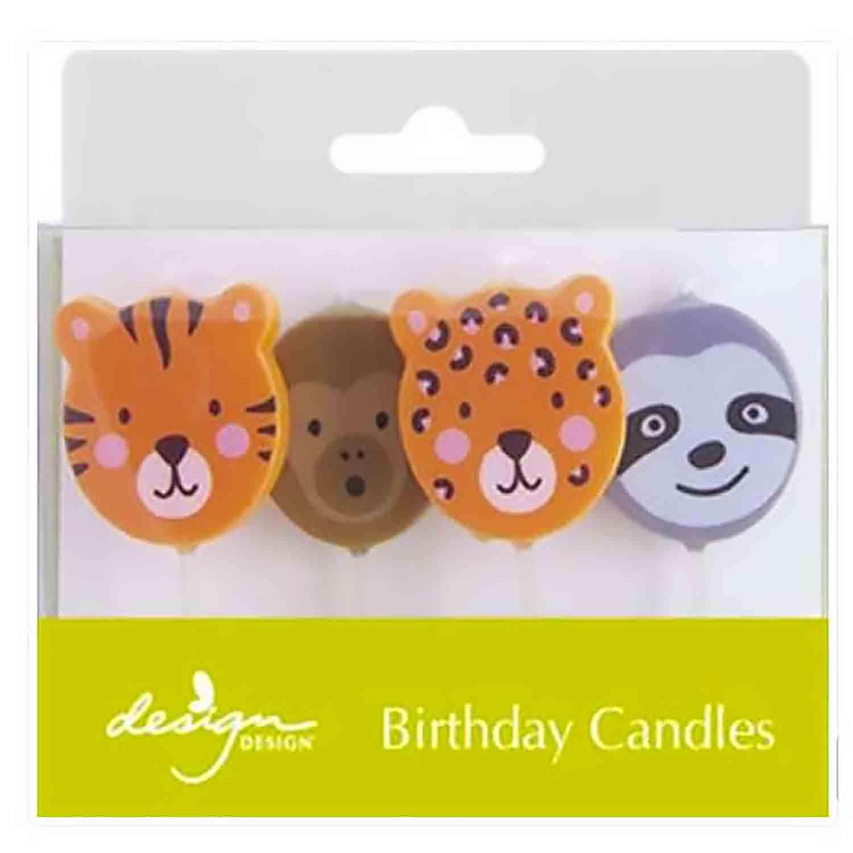Wild Birthday Candles