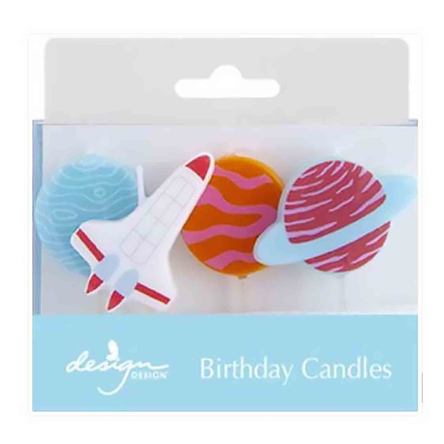 Outer Space Adventure Birthday Candles