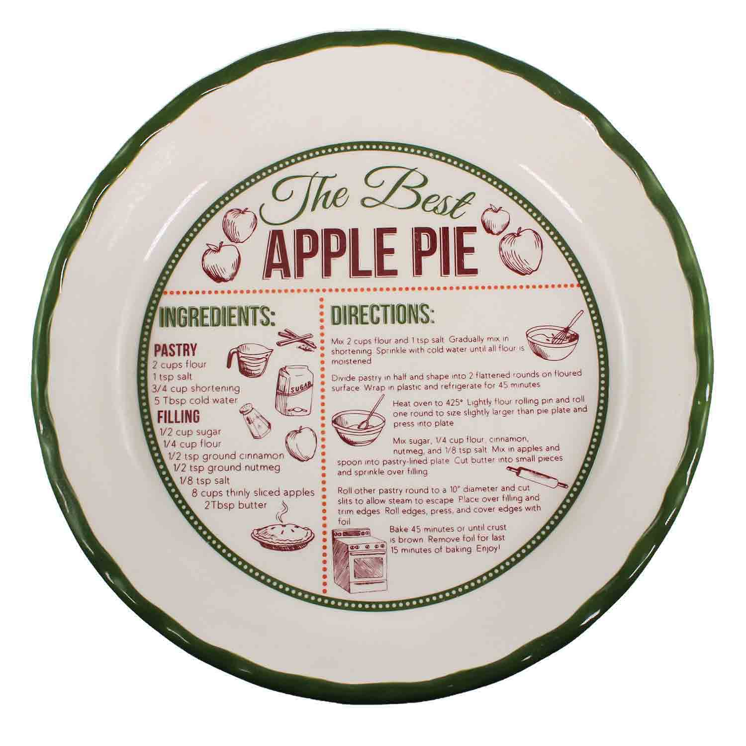Apple Pie Recipe Dish