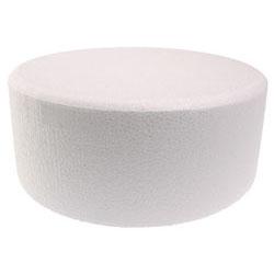 "16 x 4"" Contour Round Styrofoam Cake Dummy"