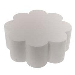 "14"" x 4"" Petal Styrofoam Cake Dummy"