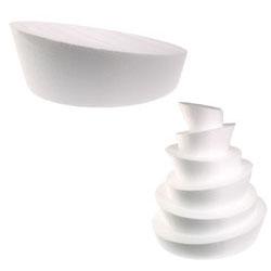 """Whimsical 8"""" Styrofoam Cake Dummy"""