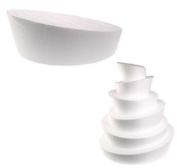 """Whimsical 10"""" Styrofoam Cake Dummy"""