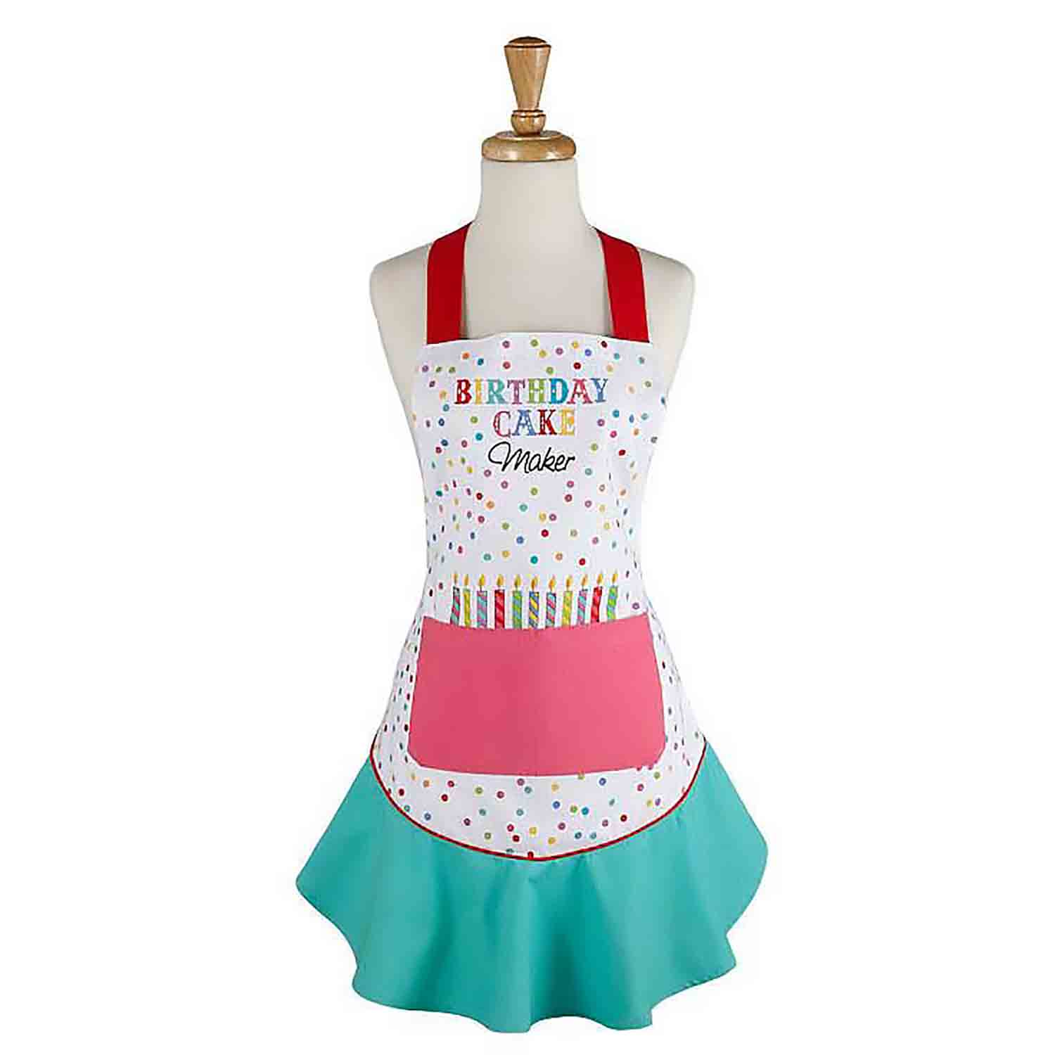 Birthday Cake Maker Apron