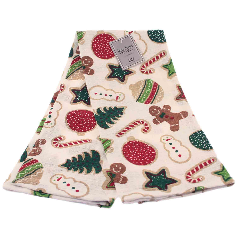 Holiday Cookies Dish Towel