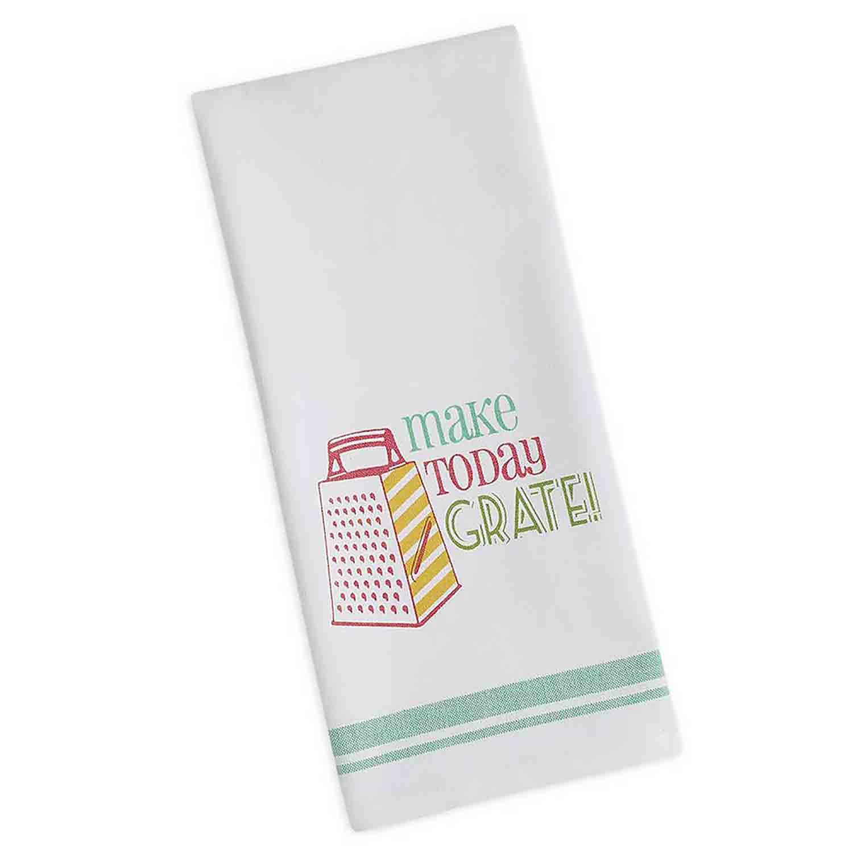 Make Today Grate Printed Dishtowel