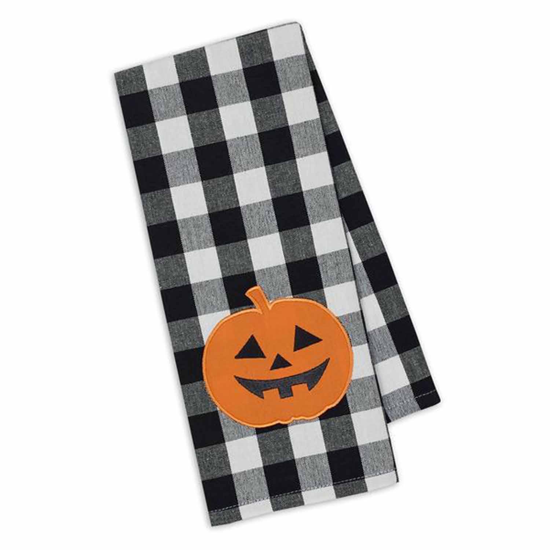 Jack O' Lantern Dish Towel