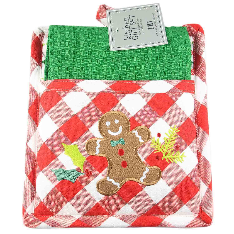 Gingerbread Pot Holder Set