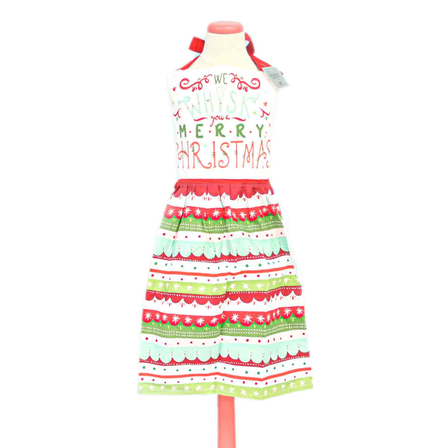 Whisk Merry Christmas Apron