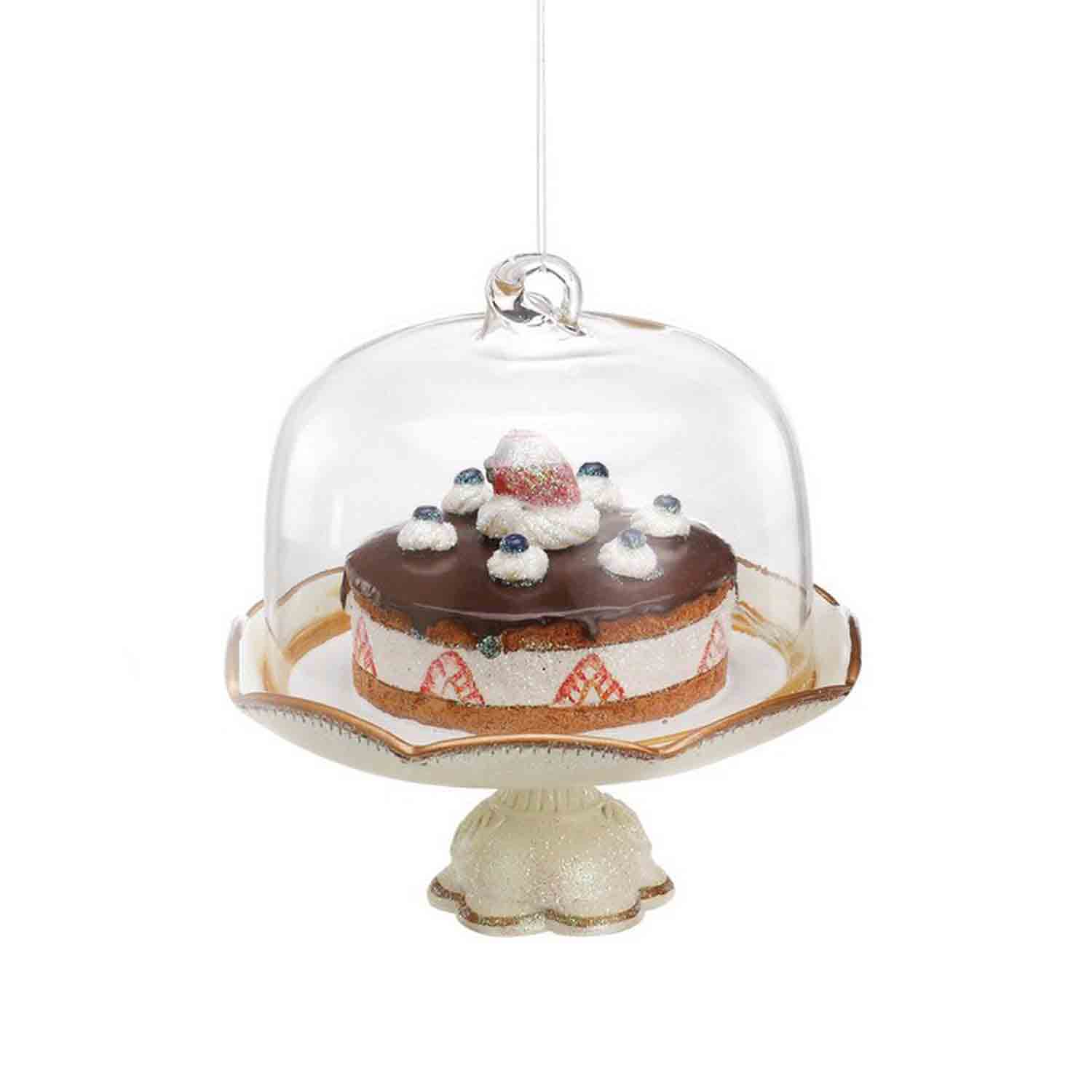 Cake On Pedestal Ornament