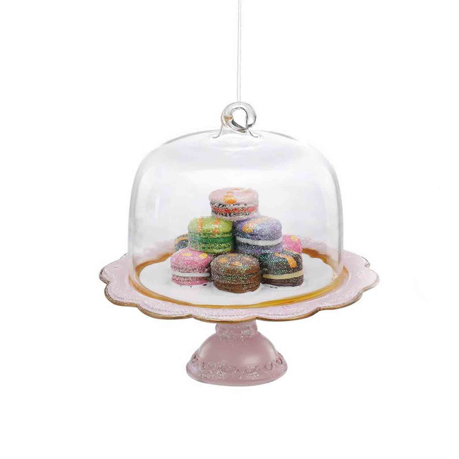 Macarons On Pedestal Ornament