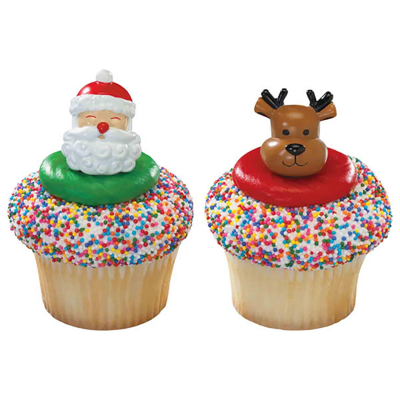 Rings - Santa & Reindeer