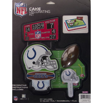 Cake Kit-NFL Indianapolis Colts