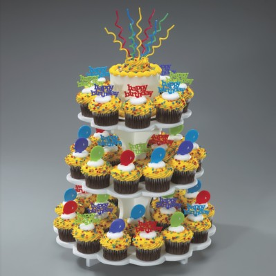 Sweet Server 3-Tier Cupcake Stand