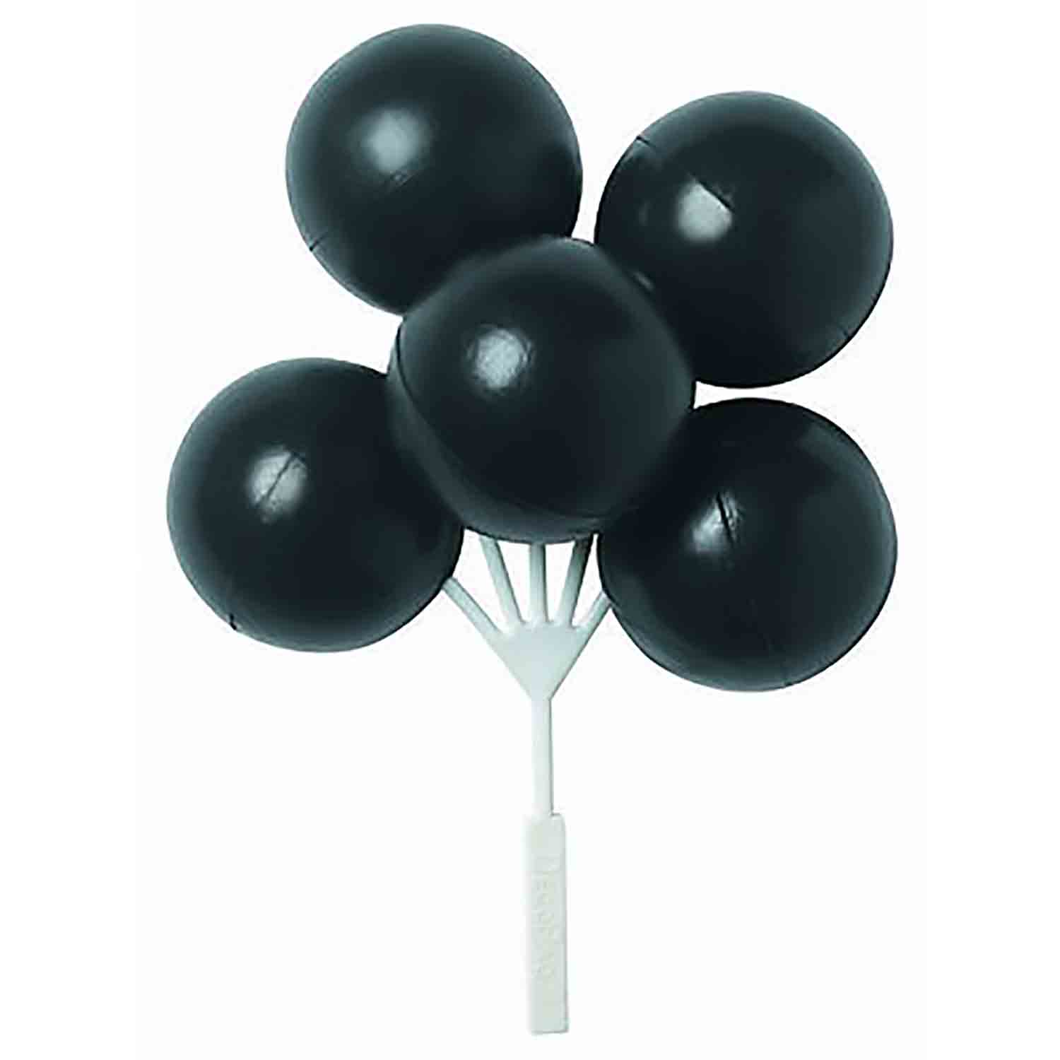 Black Balloon Cluster Pick