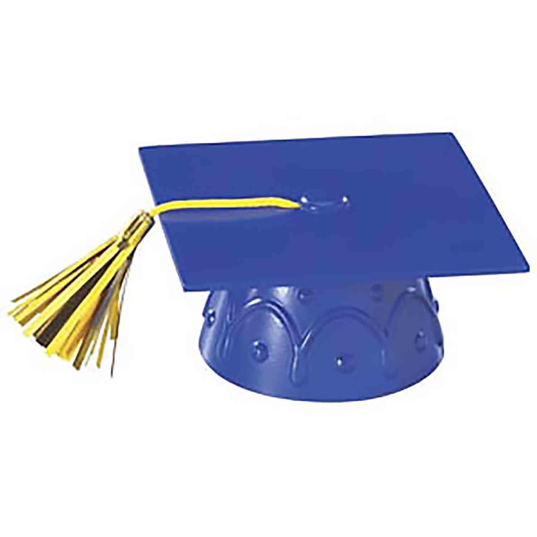 Graduation Cap w/Tassel - Blue