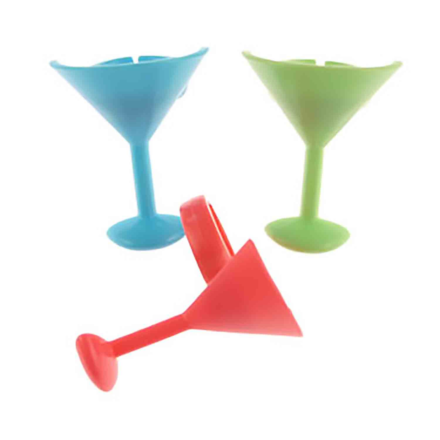 Cocktail Glass Rings